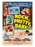 Fifties - Rock, Pretty Baby filmposter (1956)