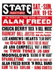 Fifties - Alan Freed's Rock and Roll Show Concert Poster (1958)