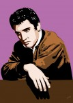 Elvis Presley - Thinking Elvis - Jarod art print
