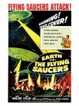 Cult Films - Earth vs. the Flying Saucers filmposter (1956)