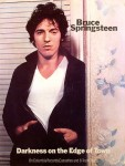 Bruce Springsteen - Darkness On The Edge Of Town promo poster (1978)