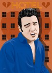 Elvis Presley - Heartbreak Hotel - Jarod art print