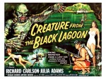 Cult Films - Creature from the Black Lagoon  filmposter (1954)