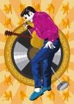 Elvis Presley - Good Rocking Tonight - Jarod art print
