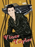 Fifties Style poster: Vince Taylor