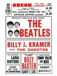 The Beatles - Odeon Theatre pamflet (1963)