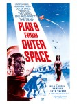 Cult Films - Plan 9 from Outer Space film poster (1959)