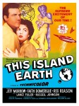 Cult Films - This Island Earth film poster (1955)
