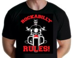 Rockabilly Rules -  Dead Biker T-shirt