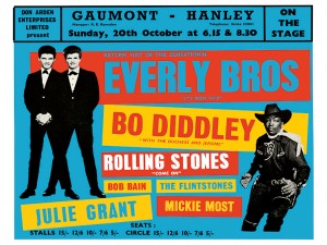 Sixties - Gaunt, Hanley - Everly Brothers - Bo Diddley - Rolling Stones (1963)