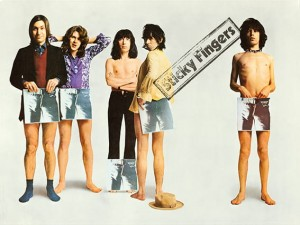 The Rolling Stones - Sticky Fingers Promotional Poster (1971)