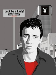 Bruce Springsteen - Atlantic City - Jarod Art Print