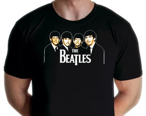 The Beatles two color shirt