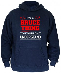 Bruce Springsteen - It's A Bruce Thing Hoodie