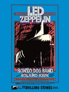 Sixties - Led Zeppelin - Winterland Concert Poster (1969)