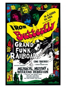 Seventies - Musical Mutiny - Weekend Rebellion Combo Film Poster (1970)