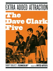 Sixties - The Dave Clark Five movie poster (1965)