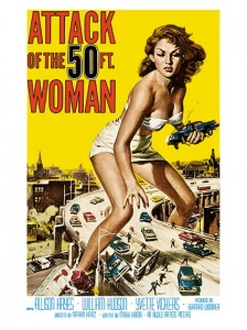Cult Films - Attack of the 50 Ft. Woman filmposter(1958)