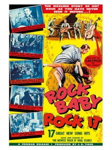 Fifties - Rock Baby Rock It filmposter (1957)
