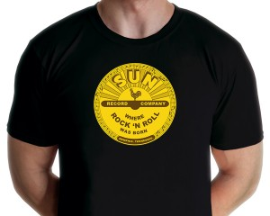 Sun Records - Where Rock and Roll Was Born T-shirt