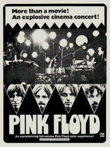 Seventies - Pink Floyd Live At Pompeii Film Poster (1972)