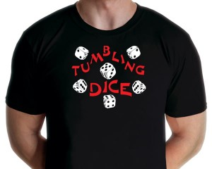 Rock Classics - Tumbling Dice T-shirt