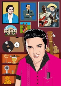 Elvis His(s)tory: The Rock and Roll Years (poster + booklet)