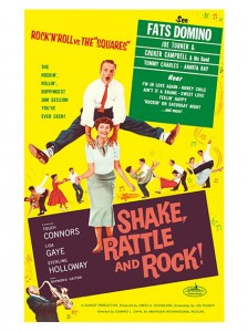 Fifties - Shake, Rattle and Rock filmposter (1956)