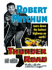 Cult Films - Thunder Road filmposter (1958)