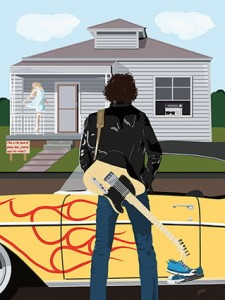 Bruce Springsteen - Thunder Road  Art Print
