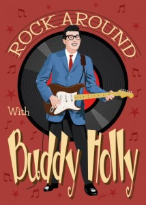 Fifties Style poster: Buddy Holly