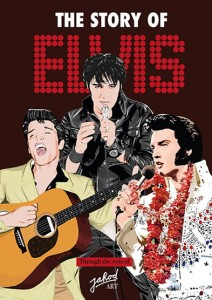 The Story Of Elvis - Through The Eyes Of Jarod Art