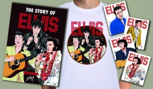 The Story Of Elvis - Through The Eyes Of Jarod Art Collectors Set