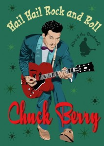 Fifties Style poster: Chuck Berry