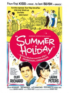 Sixties - Cliff Richard - Summer Holiday Film Poster (1963)