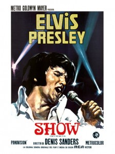 Elvis Presley - Italiaanse Film poster That's The Way It Is 1970 1970