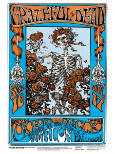 Sixties - Grateful Dead Avalon Ballroom Concert Poster (1966)