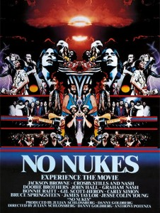 Bruce Springsteen - No Nukes film poster (1979)