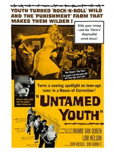 Fifties - Untamed Youth film poster (1957)