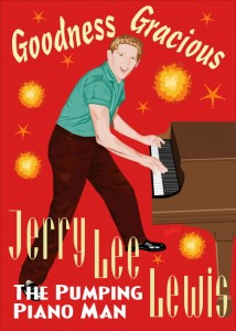 Fifties Style poster: Jerry Lee Lewis