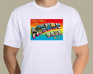Bruce Springsteen - Greetings From Asbury Park postcard T-shirt
