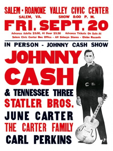 Johnny Cash Salem-Roanoke Valley Civic Center Concert Poster (1968). Rare..jpg