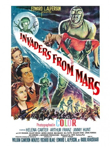 "Invaders From Mars (20th Century Fox, 1953). One Sheet (27"" X 41"")..jpg"